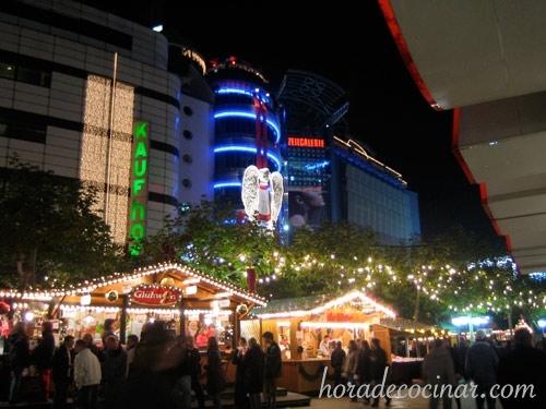 frankfurt: mercado navideño